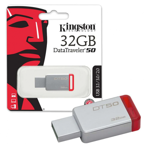 KINGSTON DT50/32GB USB3.1 DataTraveler50 Flash Disk