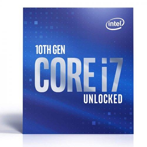 INTEL i7-10700KF 8 Core, 3.80Ghz, 16Mb, 125W, LGA1200, 10.Nesil, BOX, (Grafik Kart YOK, Fan YOK)