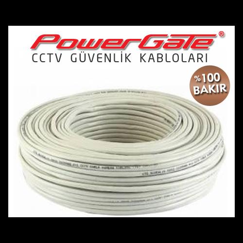 PowerGate EVO CCTV 2+1(2x0,22+0,33)%100Bakır(100m)