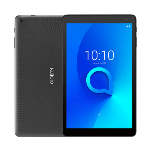 """ALCATEL 1T 10,1"""" 16Gb Bellek, 1Gb Ram, Wifi, 2Mpix Ön 2Mpix Arka Kamera, Android Tablet PC, Black"""