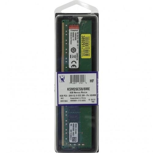 KINGSTON KSM26ES8/8ME 8Gb 2666Mhz DDR4 ECC CL19 UDIMM SERVER RAM