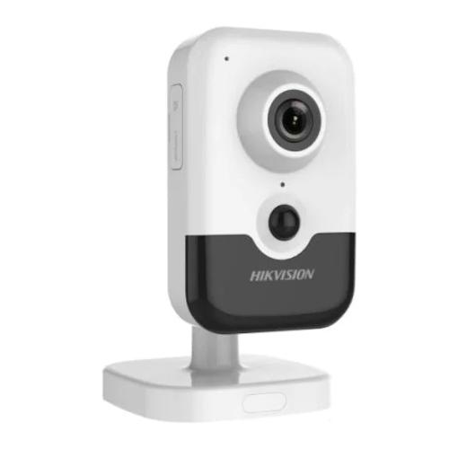 HIKVISION DS-2CD2423G0-IW 2Mpix, 2,8mm Lens, H265+,10Mt Gece Görüşü, SD Kart, PoE, Wifi, Sesli, Cube IP Kamera