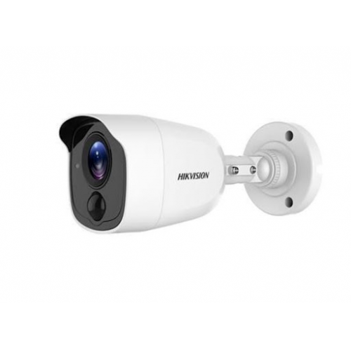 HIKVISION DS-2CE11D8T-PIRL 2Mpix 30Mt Gece Görüşü, 20Mt Beyaz Işık, 3,6mm Lens, Ultra Low-Light, PIR, Dış Mekan Kamera