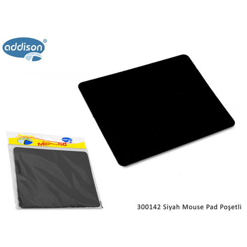 ADDISON 300142 Lüx Big MOUSE PAD (Siyah)