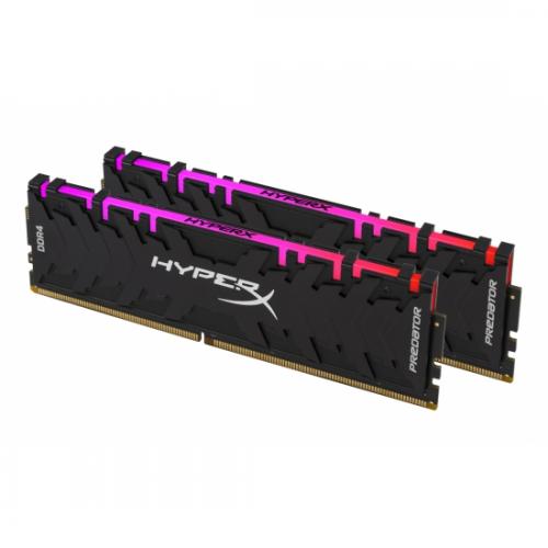 KINGSTON HX432C16PB3AK2/16 2x8G D4 3200 HyperX RGB Predator, Desktop Gaming RAM
