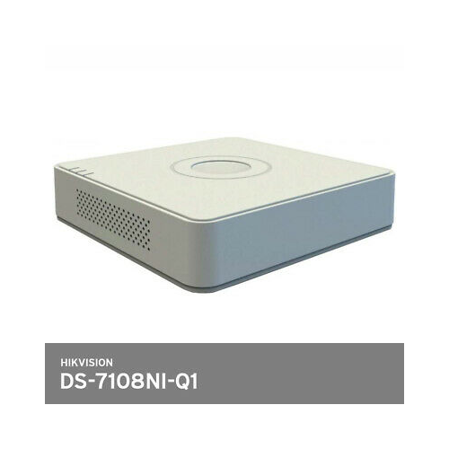 HIKVISION DS-7108NI-Q1 4Mpix, H265+, 8Kanal Video, 1 HDD, UHD 1520P Kayıt, 60Mbps Bant Genişliği, NVR