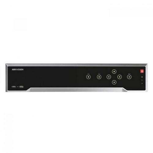 HIKVISION DS-8632NI-I8 12Mpix, H265+, 32Kanal Video, 8 HDD RAID 0,1,5,6,10, UHD 4K 2160P Kayıt, 320Mbps Bant Genişliği, NVR