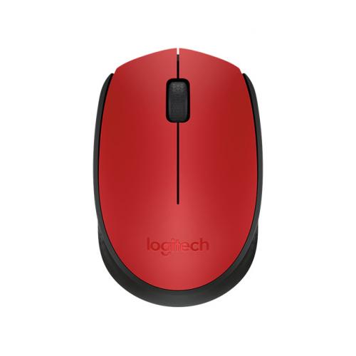 LOGITECH M171 Kablosuz Mouse Kırmızı (910-004641)