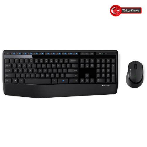 LOGITECH MK345 Klavye+ Mouse Kablosuz (920-006514)