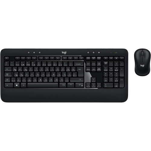 LOGITECH Advanced Combo Klavye+ Mouse Kablosuz Set (920-008808)