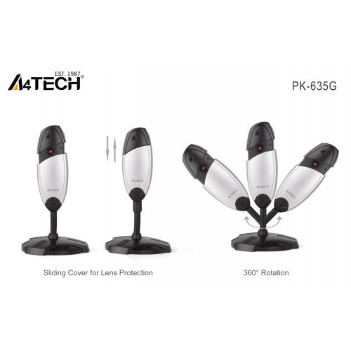 A4 TECH PK-635G 480P Dahili Mikrofonlu USB WEBCAM