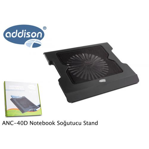 ADDISON ANC-40D Büyük Fanlı Notebook Soğutucu (S)