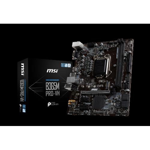 MSI B365M-PRO-VH DDR4 M.2 HDMI D-SUB USB3,1 LGA1151