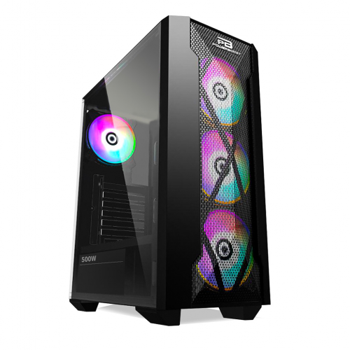 PG BRAVE AMD Ryzen 5 3600, 16Gb Ram, 250Gb SSD, 4Gb DDR5 GTX1050TI Ekran Kartı, 500W Kasa, Free Dos GAMING PC