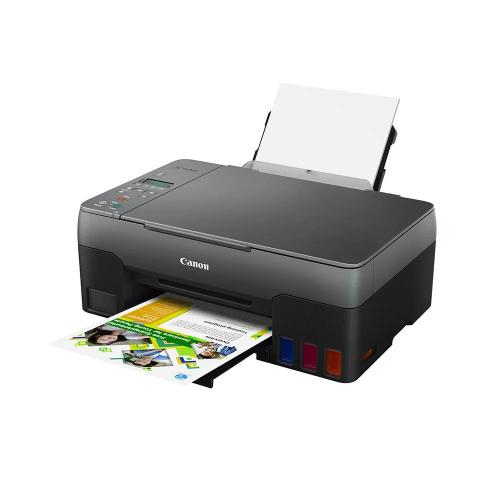 CANON G3420 Renkli Mürekkep Tanklı Yazıcı, Tarayıcı, Fotokopi, Wifi +1 Şişe Orijinal Siyah Mürekkep Hediye