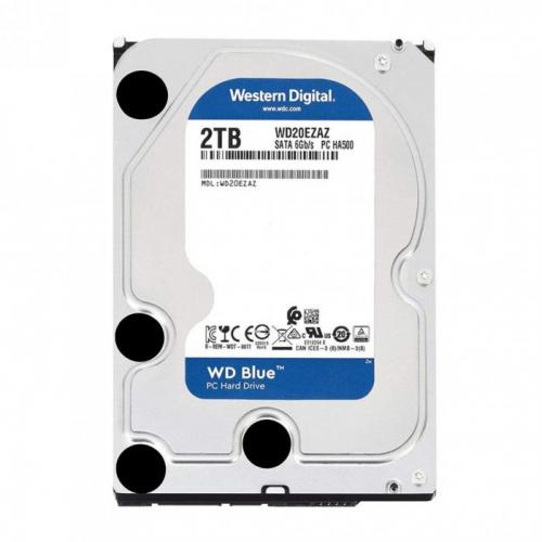 """WD Blue WD20EZAZ 3,5"""" 2Tb, 256MB, 5400Rpm, Desktop HDD"""