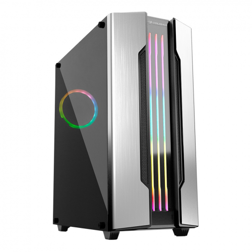 COUGAR GEMINI S CGR-5BMBS-T Silver RGB 600W 80+ GAMING KASA