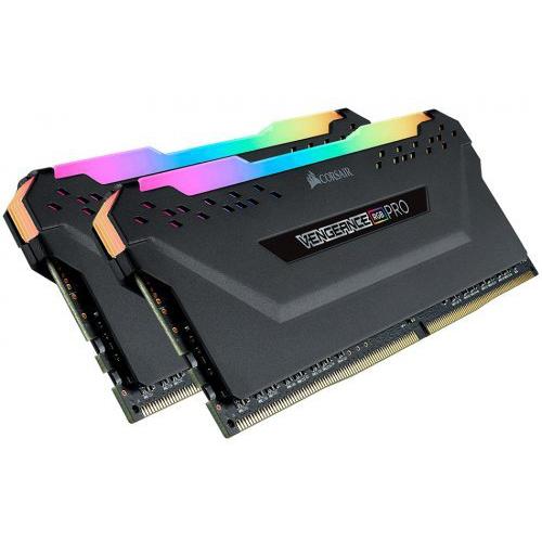 CORSAIR 16Gb (8Gbx2) DDR4 3200Mhz CMW16GX4M2C3200C16 RGB VENGEANCE RGB PRO Gaming RAM