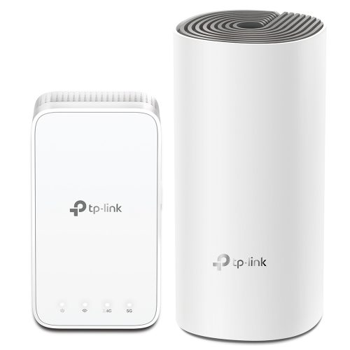 TP-LINK DECO E3 (2 Pack) DualBand AC1200 220M2, 2 Fast Port Home Mesh