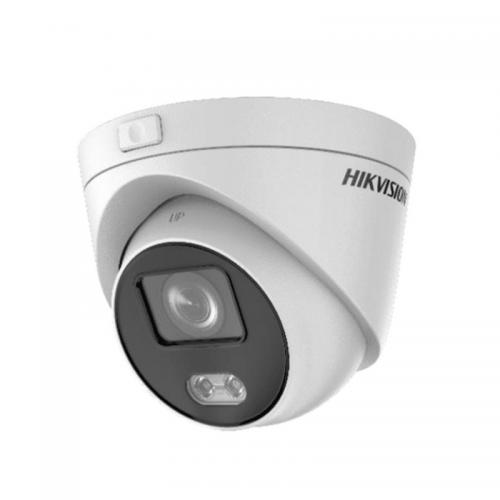 HIKVISION DS-2CD2347G3E-L 4Mpix, 2,8mm Lens, H265+, 30Mt Gece Görüşü,Color Vu, Full Time Color, (Plastik+Metal Gövde) Mini Dome IP Kamera