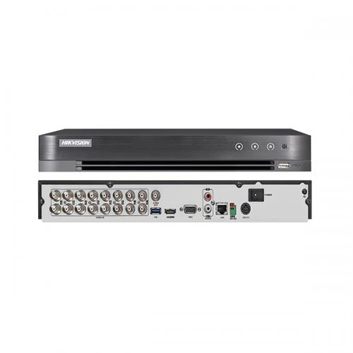 HIKVISION DS-7216HUHI-K2 5Mpix H265+ 16Kanal Video, 2 HDD, 5in1 DVR