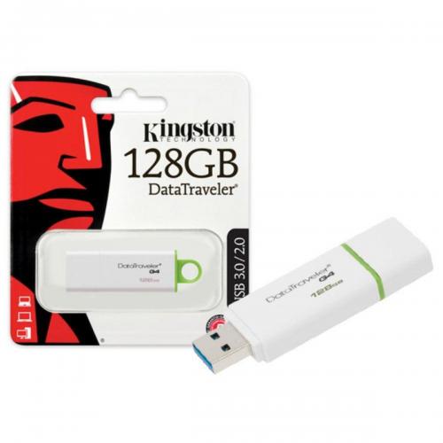 KINGSTON DTIG4/128GB USB 3.0 Data Traveler G4 Flash Disk