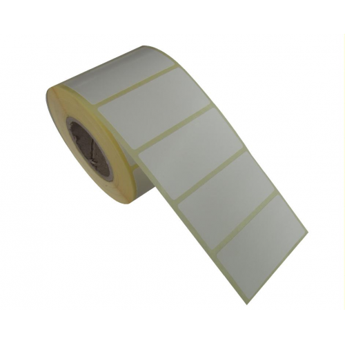 Etiket Termal 60mmx30mm (Kolon 1li)Toplam 1000ad