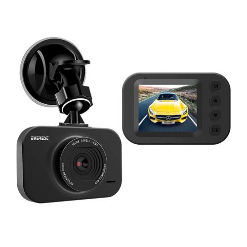 "EVEREST EVERCAR G20 5Mpix Foto, 1080P FullHD Video 2,0"" IPS Ekran, G Sensör, Ses Kaydı, Harekete Duyarlı Araç Kamerası"