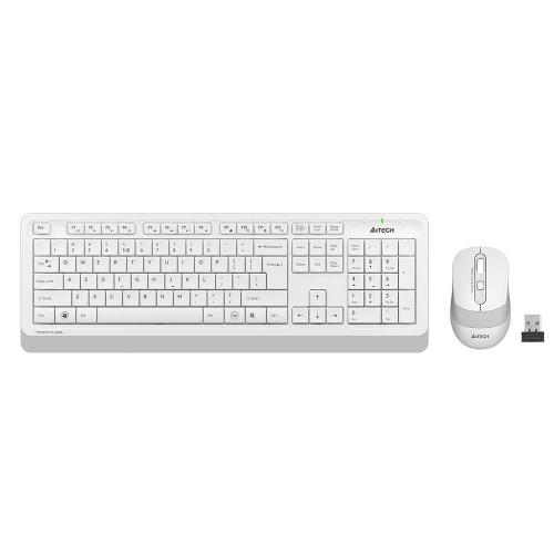 A4 TECH FG1010 White FSTYLER Türkçe Q 2,4Ghz Kablosuz Klavye Mouse Set