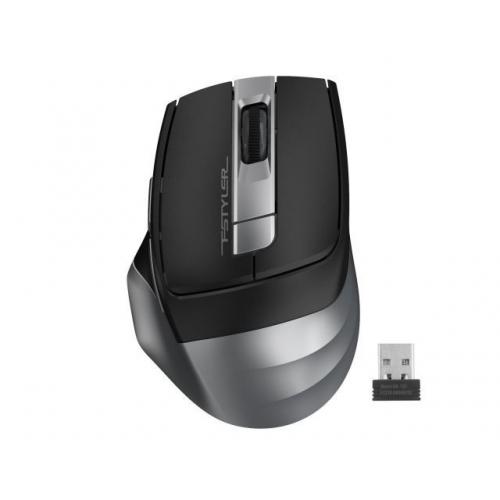 A4 TECH FG35 (Grey) FSTYLER 2,4Ghz Kablosuz Optik Mouse, 10-15Metre, 6 Buton, Nano Alıcı
