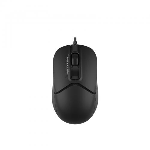 A4 TECH FM12 (Siyah) FSTYLER 1000DPI, Usb Optik Mouse