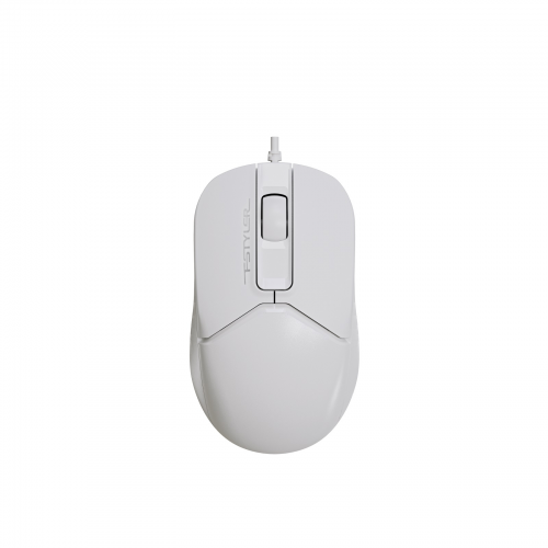 A4 TECH FM12 (Beyaz) FSTYLER 1000DPI, Usb Optik Mouse