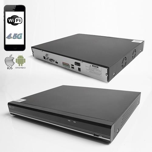 RAYDIN FORCE-H09 8Mpix, H265, 8Kanal Video, 2 HDD, UHD 4K 2160P Kayıt, 60Mbps Bant Genişliği, RaydınView NVR