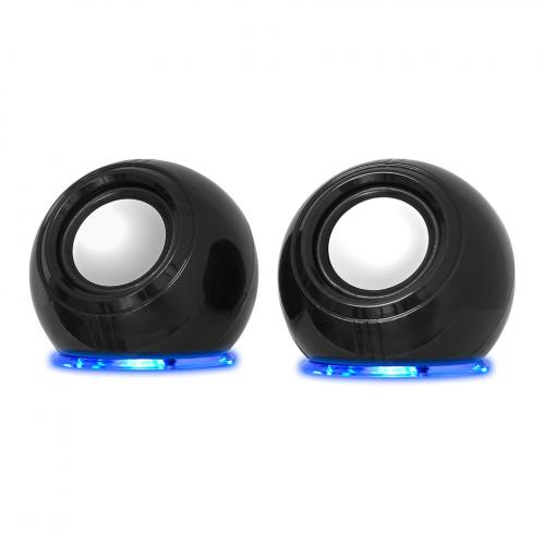 FRISBY FS-2130U 1+1, 6W RMS, Masa Üstü SPEAKER, USB den Güç Alır, RGB Led Işıklı