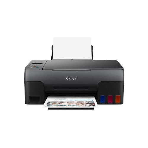 CANON G2420 Renkli Mürekkep Tanklı Yazıcı, Tarayıcı, Fotokopi +1 Şişe Orijinal Siyah Mürekkep Hediye