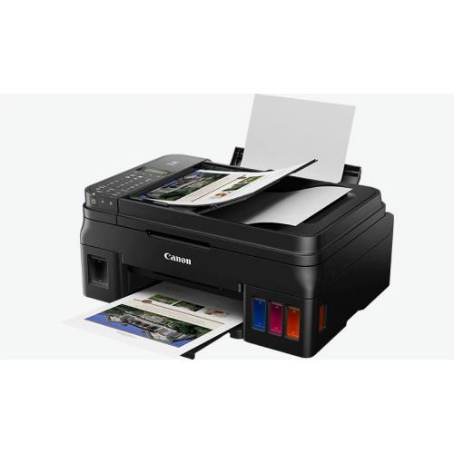 CANON G4411 Renkli Mürekkep Tanklı Yazıcı, Tarayıcı, Fotokopi, Fax,Wifi +1 Şişe Orijinal Siyah Mürekkep Hediye