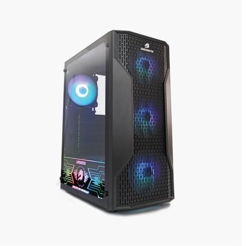 GAMEBOOSTER GB-G3309B RGB Mesh , Tempered Glass 550W 80+ GAMING KASA