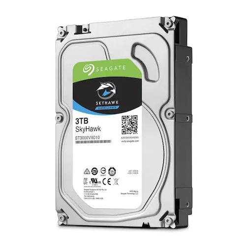 """SEAGATE SKYHAWK 3,5"""" 3TB 256Mb ST3000VX009, 5900Rpm, Güvenlik HDD"""