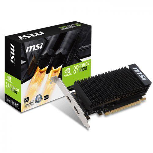 MSI GT1030 2GH LP OC 2GB GDDR5 Low Profile 64Bit 1xHDMI 1xDP