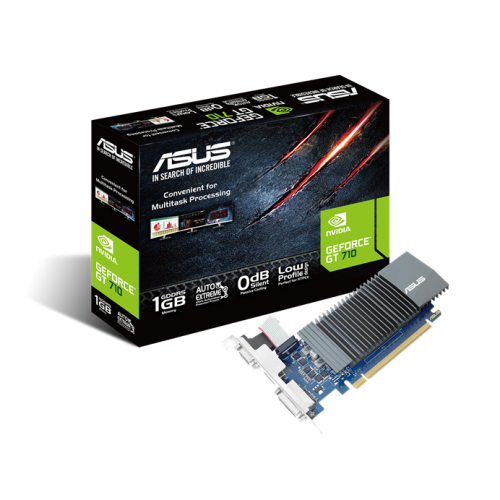 ASUS GT710-SL-1GD5 1Gb DDR5 32Bit 1xD-SUB 1xHDMI 1xDVI
