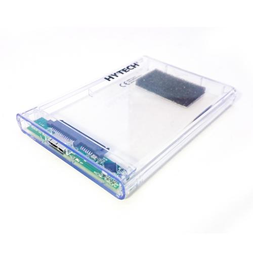 """HYTECH HY-HDC25 USB3.0 HDD KUTU Şeffaf 2,5"""""""
