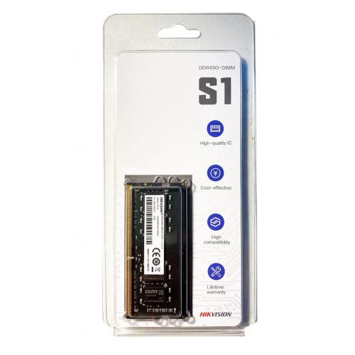 HIKVISION S1, 8Gb DDR4 2666Mhz, HKED4082CBA1D0ZA1 1,2V CL19 Notebook RAM