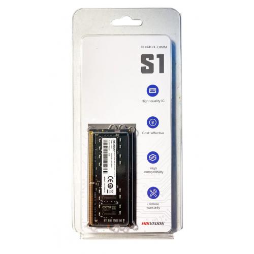 HIKVISION S1, 16Gb DDR4 2666Mhz, HKED4162DAB1D0ZA1 1,2V CL19 Notebook RAM