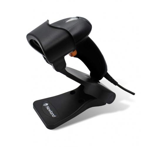 NEWLAND HR2080-S0 EL Tipi, Cmos, USB Kablolu, Ayaklı , 1D ve 2D (Kare Kod) Barkod Okuyucu