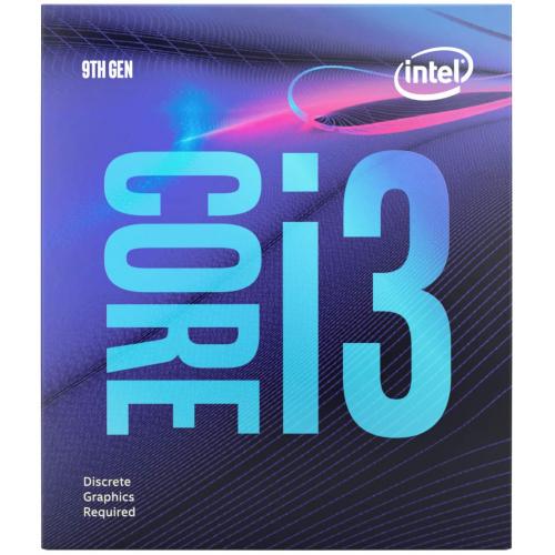 INTEL i3-9100F 4 Core, 3.60Ghz, 6Mb, 65W, LGA1151, 9.Nesil, BOX, (Grafik Kart YOK, Fan VAR)