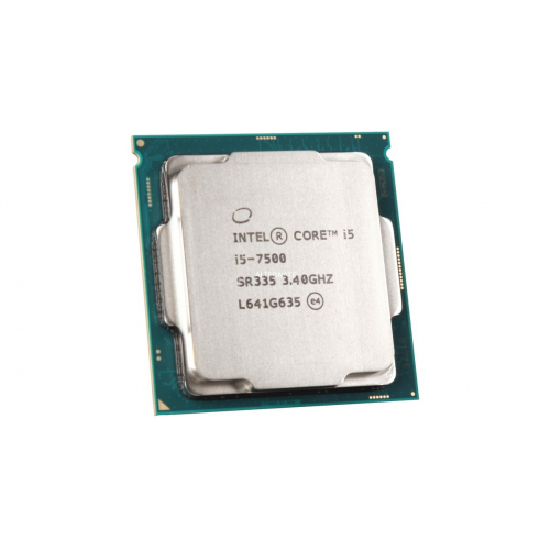 INTEL i5-7500 4 Core, 3.40Ghz, 6Mb, 65W, LGA1151, 7.Nesil, TRAY, (Grafik Kart VAR, Fan YOK)