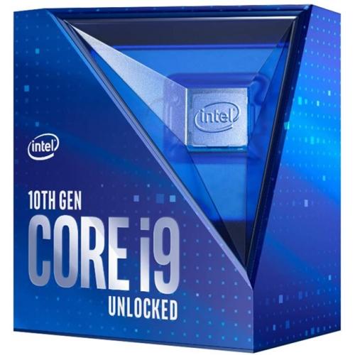INTEL i9-10850K 10 Core, 3.6Ghz, 20Mb, 125W, LGA1200, 10.Nesil, BOX, (Grafik Kart VAR, Fan YOK)