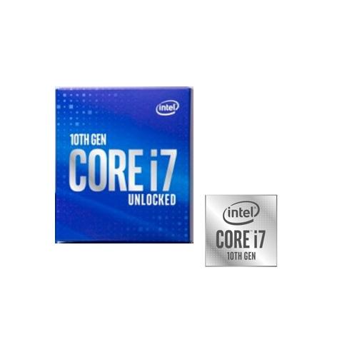 INTEL i7-10700F 8 Core, 2.90Ghz, 16Mb, 65W, LGA1200, 10.Nesil, BOX, (Grafik Kart YOK, Fan VAR)