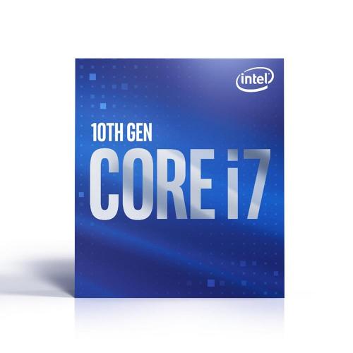 INTEL i7-10700K 8 Core, 3.80Ghz, 16Mb, 125W, LGA1200, 10.Nesil, BOX, (Grafik Kart VAR, Fan YOK)