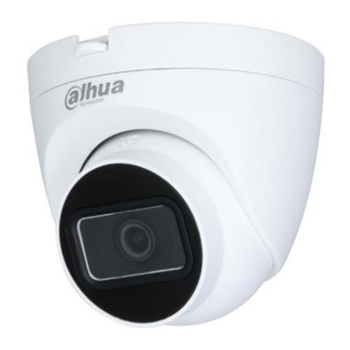 DAHUA IPC-HDW1230T-0280B 2Mpix, 2,8mm Lens, H265+, 30Mt Gece Görüşü, IP67, Mikrofonlu, PoE Dome IP Kamera